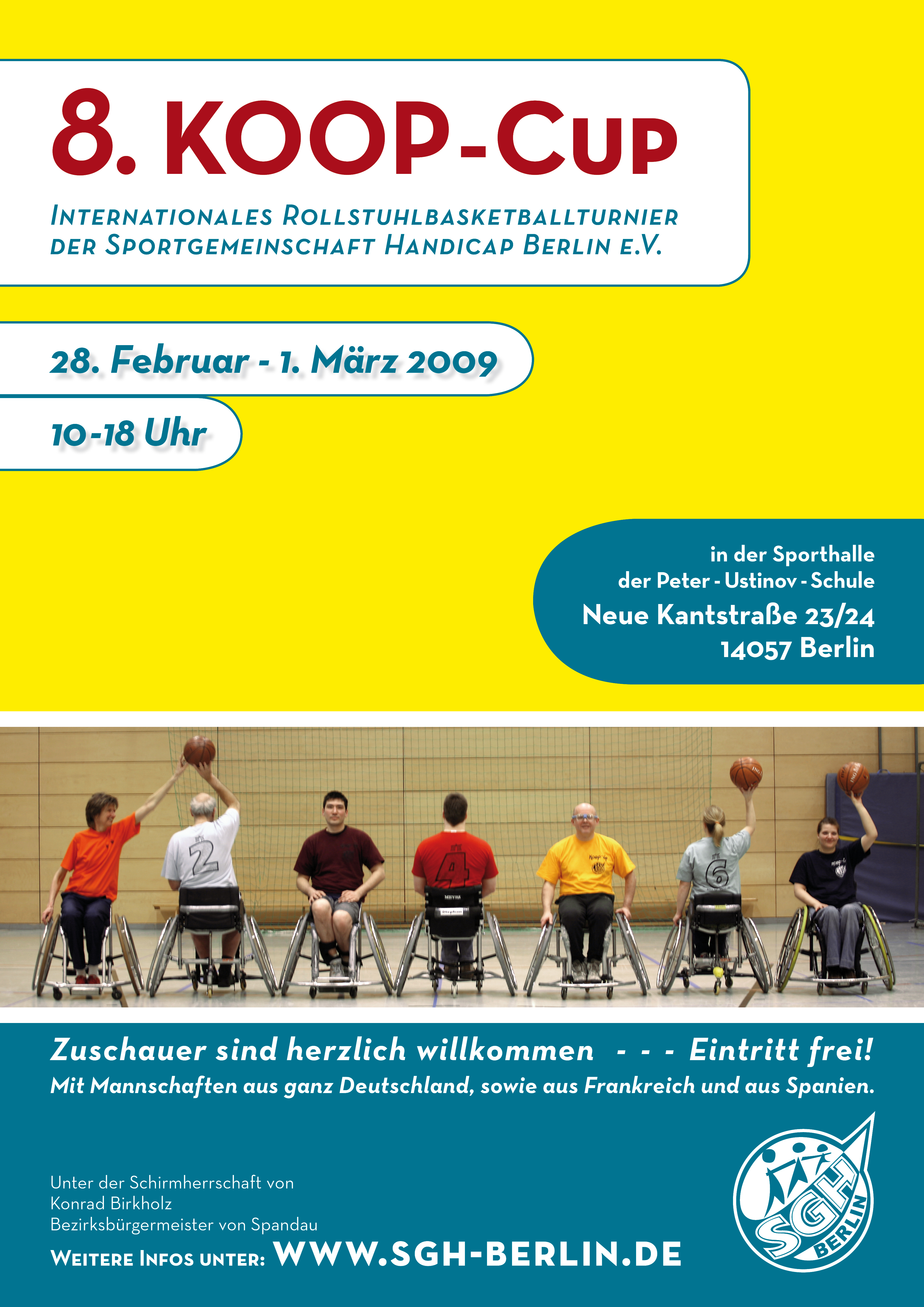 Sgh Berlin Sportgemeinschaft Handicap Berlin Ev